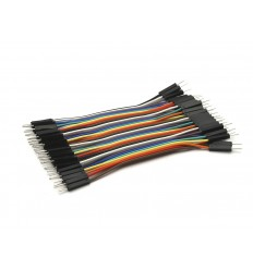 Male to Male Dupont Line 40 Pin 10cm