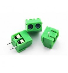 3.5mm 2pin Straight Pin PCB Screw Terminal Block (3 pz)