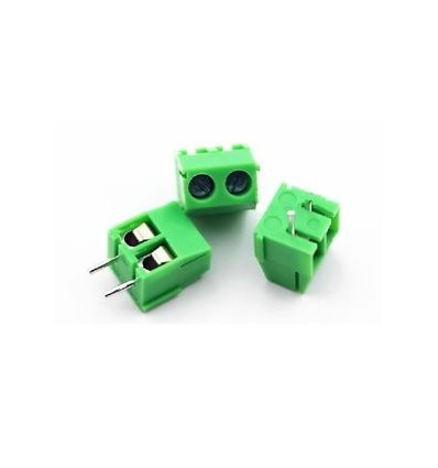 3.5mm 2pin Straight Pin PCB Screw Terminal Block