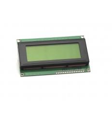 Display LCD 20x4 Retroilluminazione Gialla/Verde HD44780