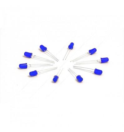 10 LED Blu 5mm