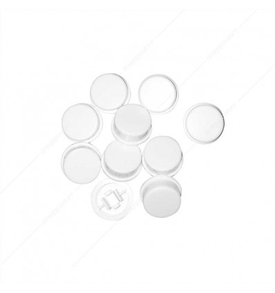 White round cap for Square Tactile switch (pz 10)